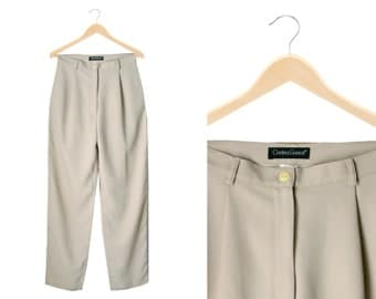 Autumn Taupe Chino Pants - Made in Italy - 1990