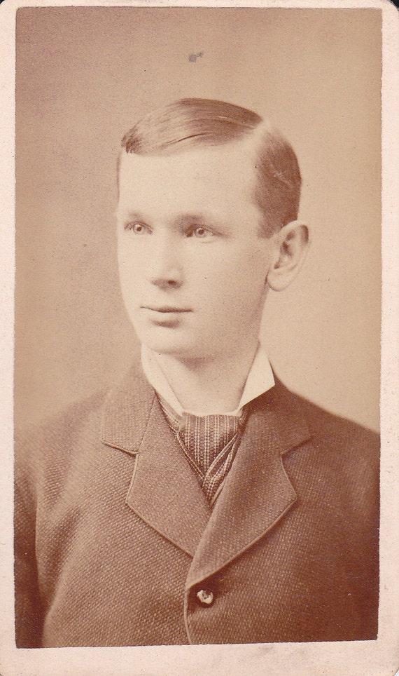 Vintage CDV of a Young Man