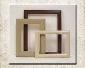 Picture Frame Set Autumn Home Decor Neutral Brown Modern Gallery Wall Picture Frames