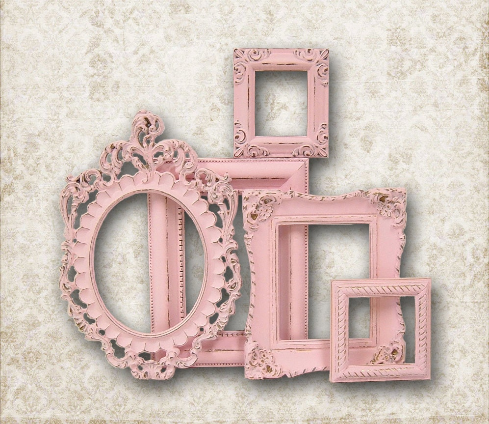 RESERVED FOR M Shabby Chic Picture Frame by MountainCoveAntiques