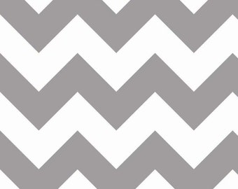 Chevron Gray Large Chevron for Riley Blake, 1/2 yard