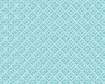 Dress Up Days Blue Damask by Doohikey Designs for Riley Blake, 1/2 yard