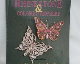 Collecting Rhinestone And Colored Jewelry/ Price Guide/ Soft Covered Book/Reference Book/Jewelry Book/by Gatormom13