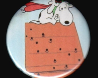 Ace Snoopy In A Jam Button