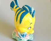 """Ariel's Friend, """"Flounder"""", from the Disney Film """"The Little Mermaid"""" -- Adorable and Fun Collectible"""