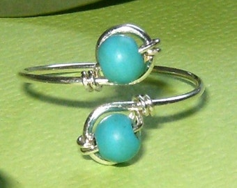Turquoise Toe Ring