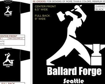 Ballard Forge T-shirts