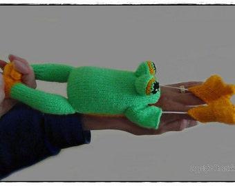 Super sonic froggie     :  Pattern only IMMEDIATE DOWNLOAD