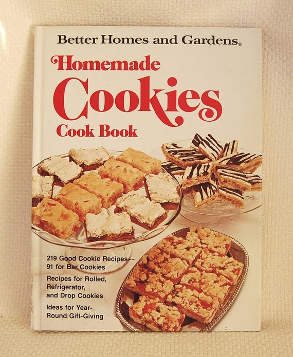 Vintage Cookbook Better Homes And Gardens Homemade Cookies
