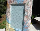 Map Picture Frame - Photo Frame - Atla