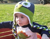 Seattle Seahawks Earflap Hat (2-4 years) by playground bound