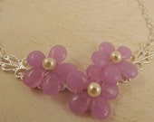 Three Flower Necklace