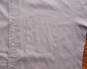 mens vintage University oxford shirt