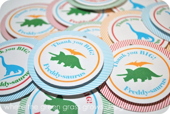Dinosaur Tags