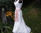 For Shannon - Fit n Flare V neck Lace Wedding Dress