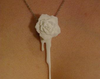 Bleeding Heart Rose (white)