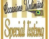 Special listing for Alyssa Hilleren