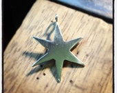 Made To Order - Chicago Star Handmade Sterling Silver Pendant ONLY