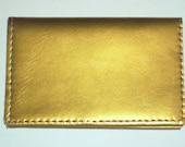 custom order for sakura hara card case gold patent leather