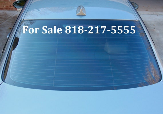 For sale sign / car sign / sale sign / car sale / by owner sign / phone number / glass sign / window sign / selling sign / vehicle sign