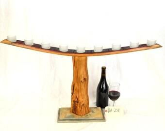 Old Vine Grapevine Menorah