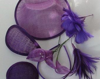 Sale - Millinery Box - Purples