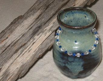 Sapphire Blue Crystal Bracelet