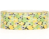 Floral Washi Tape Adhesive 11 yards WT36