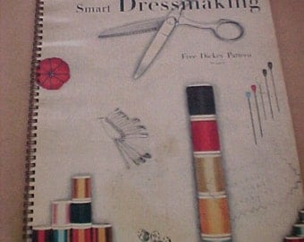 Vintage 1947 Vogue Sewing Book High Fashion Techniques