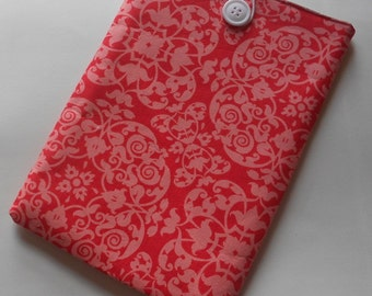 Kindle Sleeve/Nook Cover/E-Reader Sleeve - Persimmon