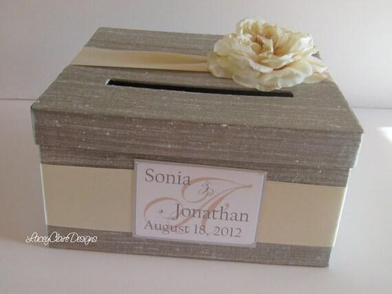 Wedding Card Box READY TO SHIP