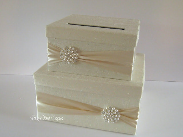 Wedding Card Box Money Holder Gift Card Envelope Box | Just A Little ...