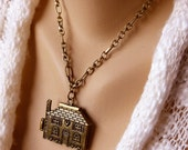 Hanging Around The House - A Whimsical Locket Necklace