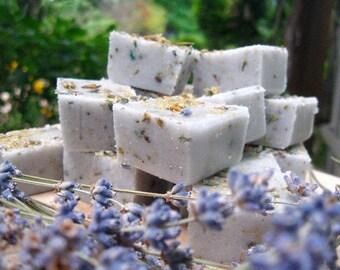 Lavender Chamomile Sugar Scrub Cubes