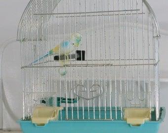 Vintage Mid Century Birdcage