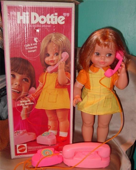 Rare Vintage Hi Dottie Doll By Mattel 1972 All Original With