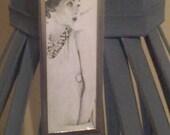 Ooh La La Microslide necklace with High Heel Charm
