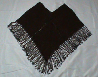 Hand-Woven Beaded Pancho