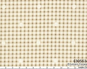 Hill Farm- Pebble Gingham by Brenda Riddle for Lecien Fabrics