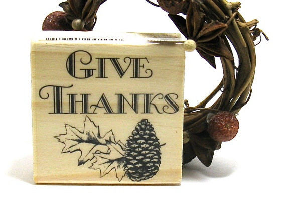 Thanksgiving Fall Leaf Stamps (Set of 3)