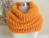 The Butterscotch Super Chunky Knit  Cowl