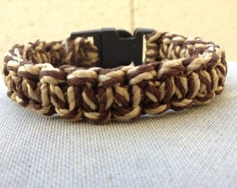 Macrame Bracelet (Mens) Clasp A