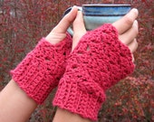PDF Fingerless Gloves Crochet Pattern Rustic Charm for a Cozy Fall Wardrobe INSTANT DELIVERY