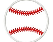 Digitizing Dolls Baseball 2 Applique Embroidery Design 3x3 4x4 5x7 6x10 Sports INSTANT DOWNLOAD