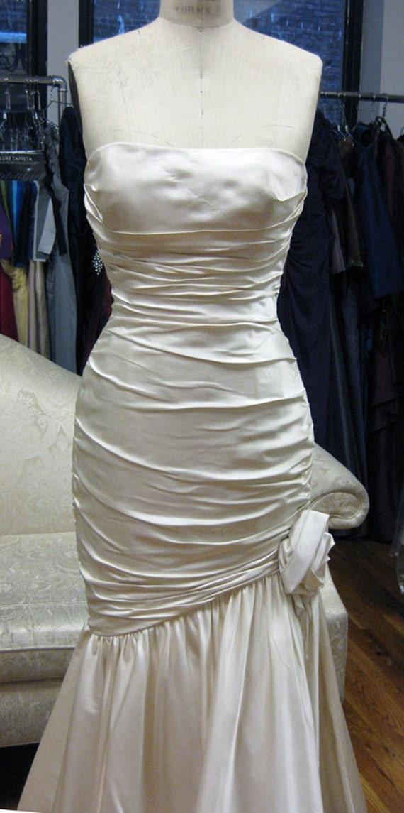 Silk Satin Wedding Dress Sample Sale