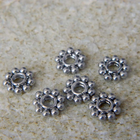 6 stainless steel flower spacer by metalnmoresupply