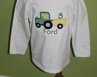 John Deere Birthday shirt