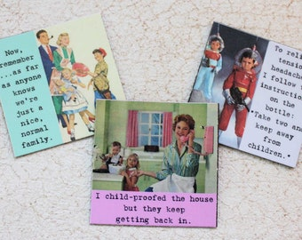 Funny  Magnets for Mom With Sassy Sayings