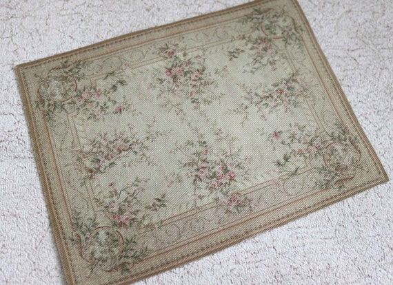 Miniature rug shabby french glory in largest sizes for Largest area rug size