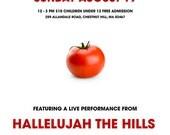 Hallelujah The Hills Tomato Festival Poster - Glossy 11x17 Print